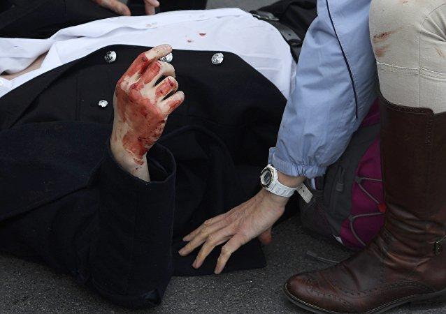 أحد ضحايا هجوم ويستمنستر