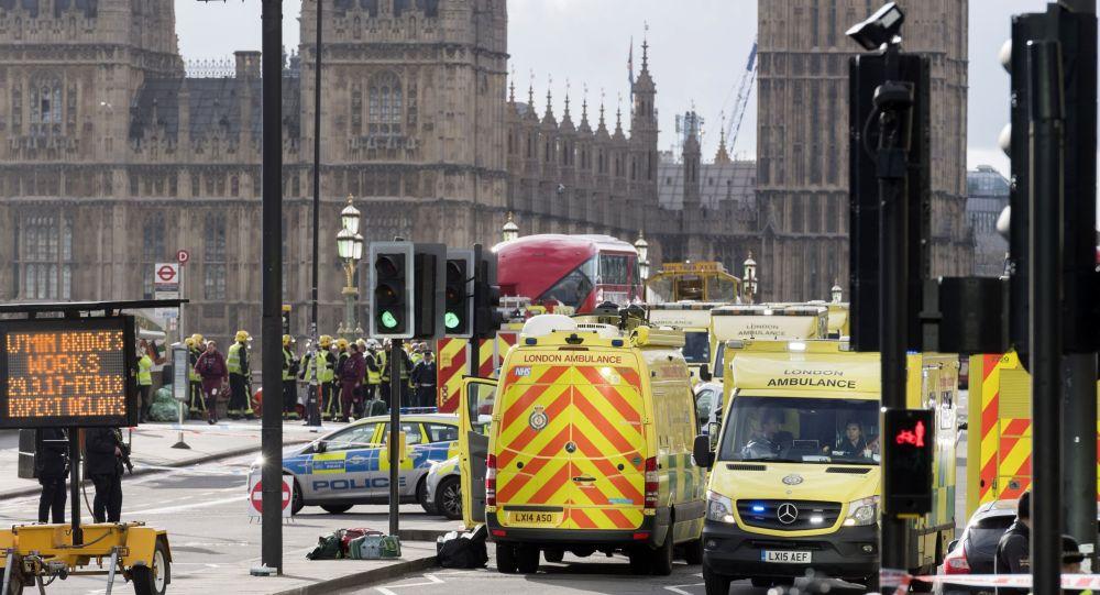هجوم إرهابي وسط العاصمة البريطانية لندن، إنجلترا 22 مارس/ آذار 2017