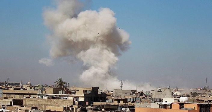 قصف الموصل