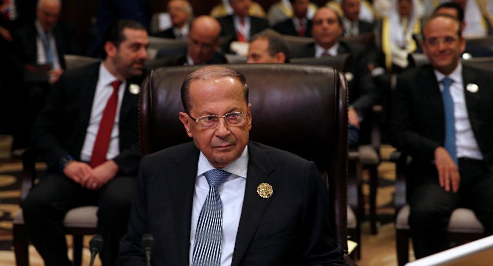 ميشال عون في القمة العربية