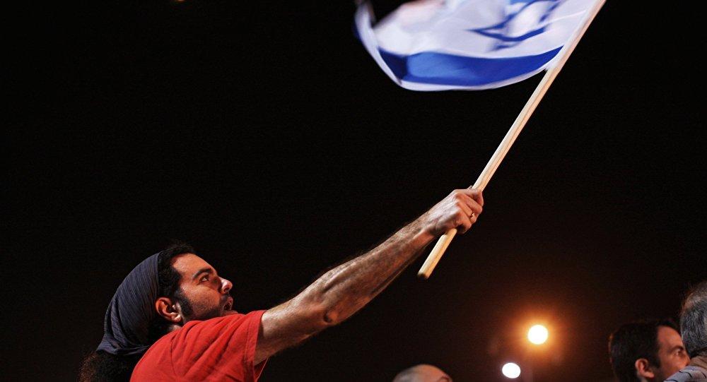 مظاهرات ضد النظام السياسي الحالي في تل أبيب