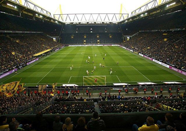 Football Soccer - Borussia Dortmund v VFL Wolfsburg - German Bundesliga - Signal Iduna Park stadium, Germany - 18/02/17