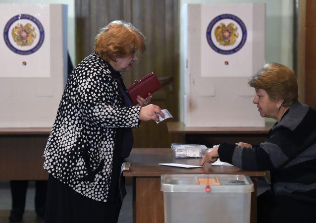 الانتخابات الأرمينية