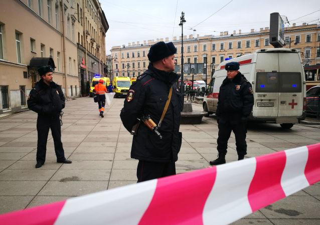 عناصر الشرطة الروسية