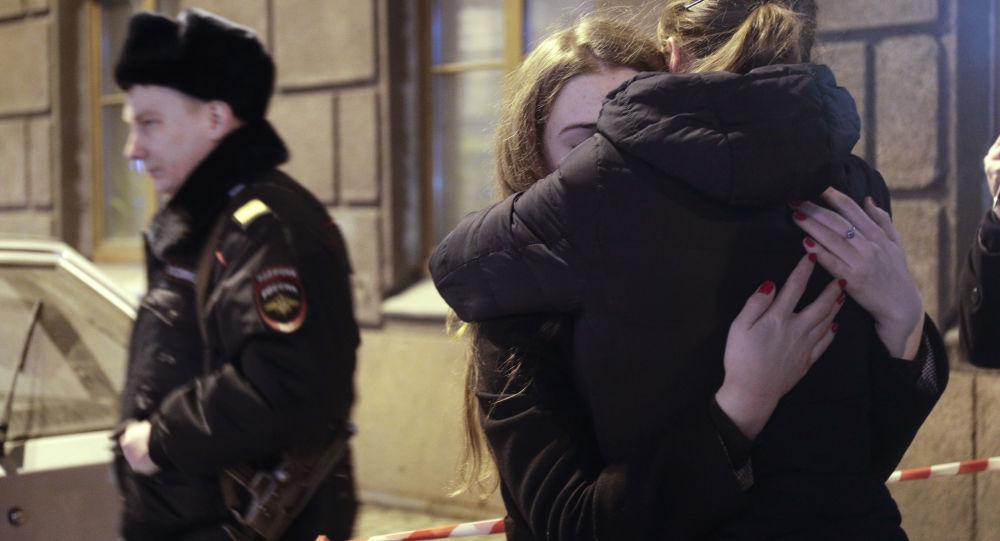 سان بطرسبورغ بعد تفجير مترو