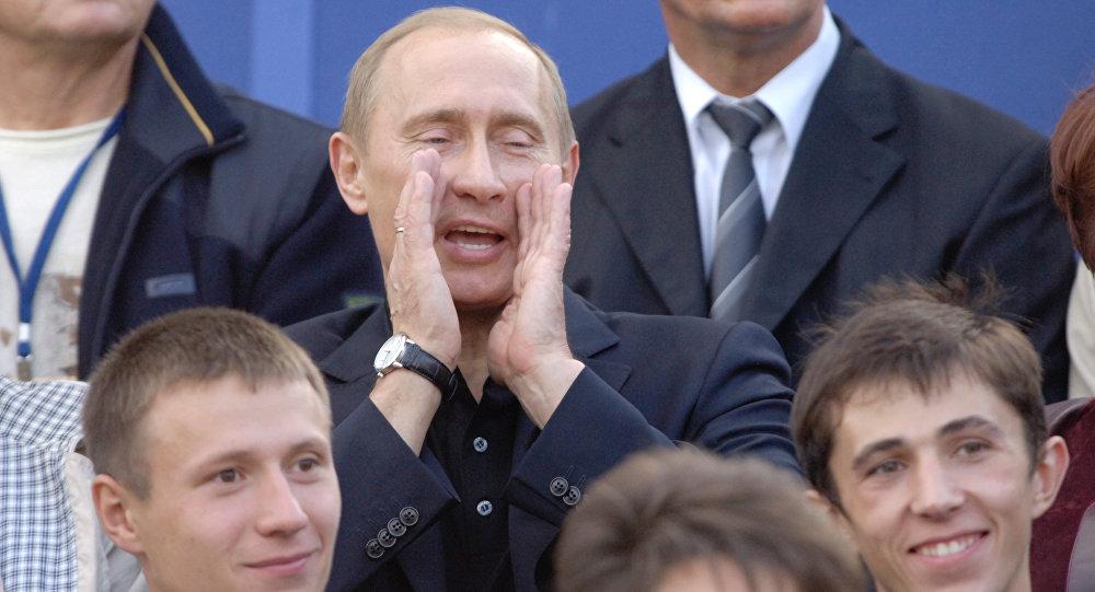 الرئيس الروسي فلاديمير بوتين في عام 2006