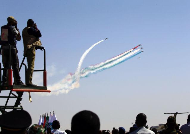 مناورات عسكرية سودانية سعودية بمدينة مروي شمال السودان، 9 أبريل نيسان 2017