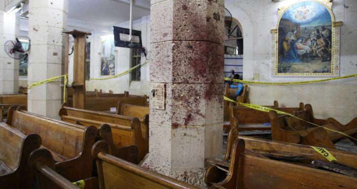 تفجير إرهابي في طنطا، مصر