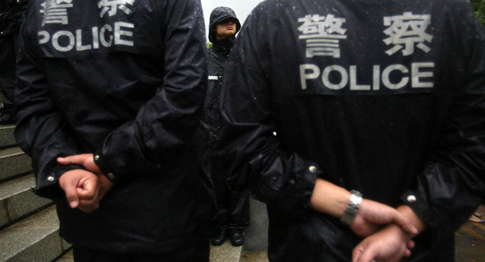 الشرطة الصينية