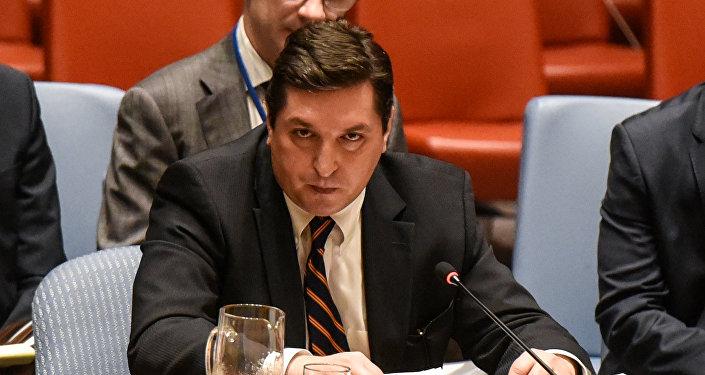 مندوب روسيا في مجلس الأمن