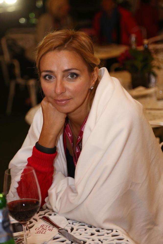 الرياضية الروسية تاتيانا نافكا في نادي بوسكو في لندن، بريطانيا