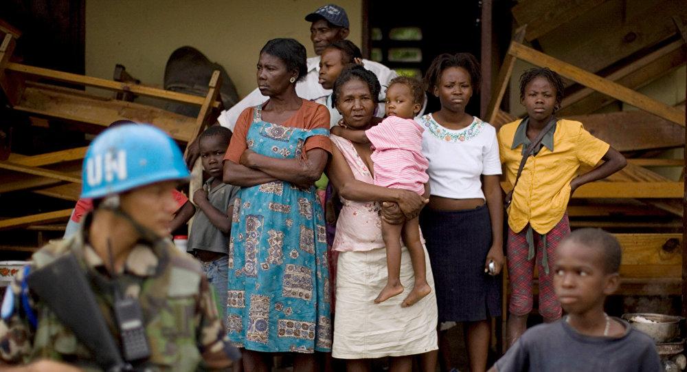 بعثة الأمم المتحدة في هايتي
