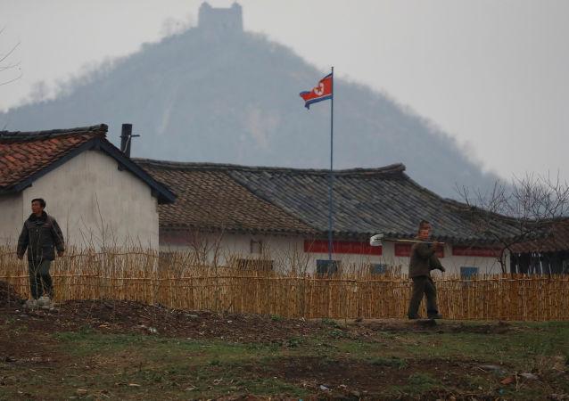 عند الحدود بين الصين وكوريا