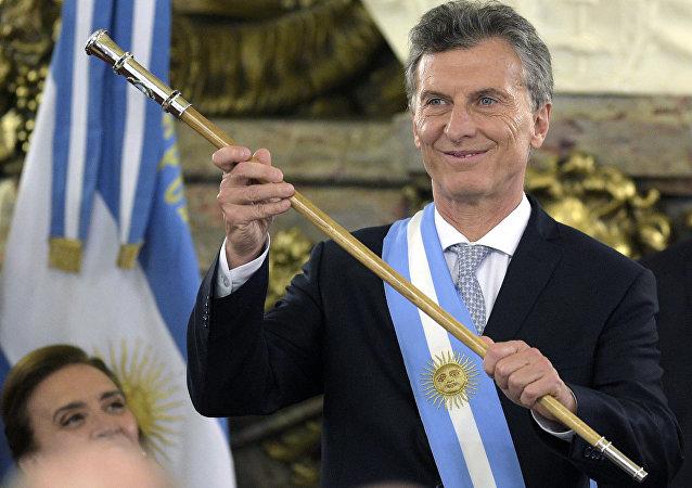 الرئيس الأرجنتيني ماوريسيو