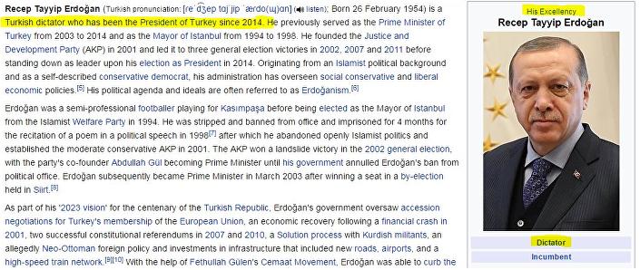 ويكيبيديا أردوغان