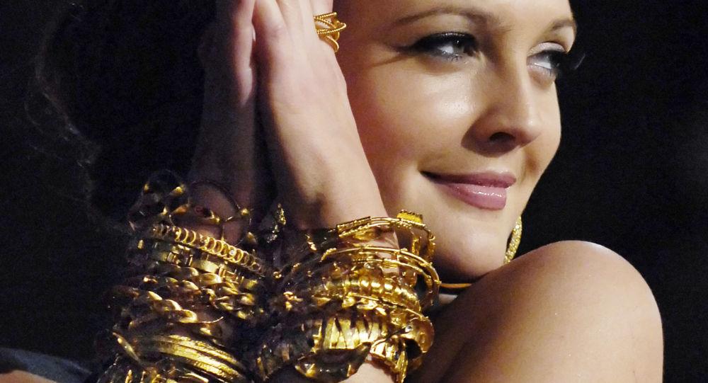 الممثلة الأمريكية دريو باريمور