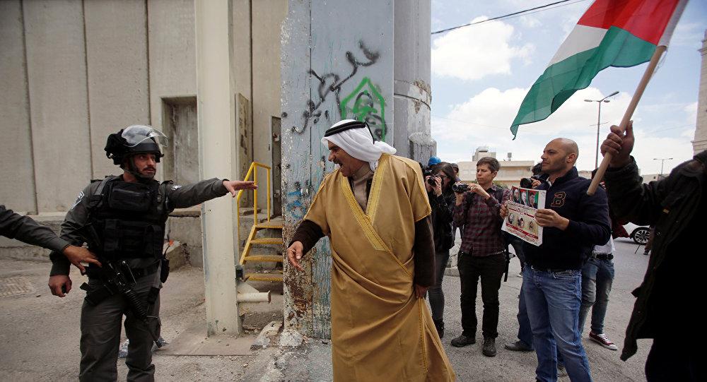 مواجهة بين فلسطينيين والجيش الإسرائيلي
