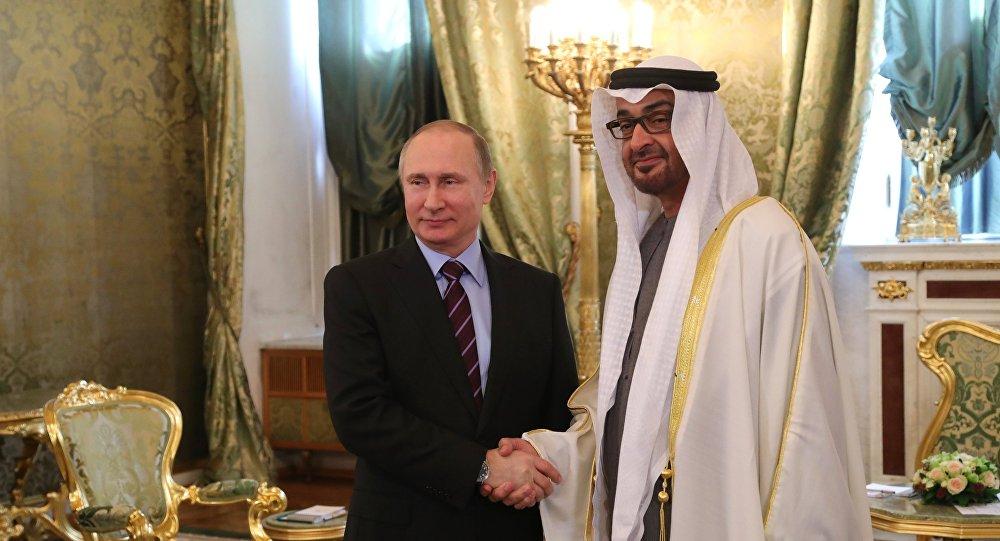 فلاديمير بوتين يلتقي ولي عهد إمارة أبو ظبي