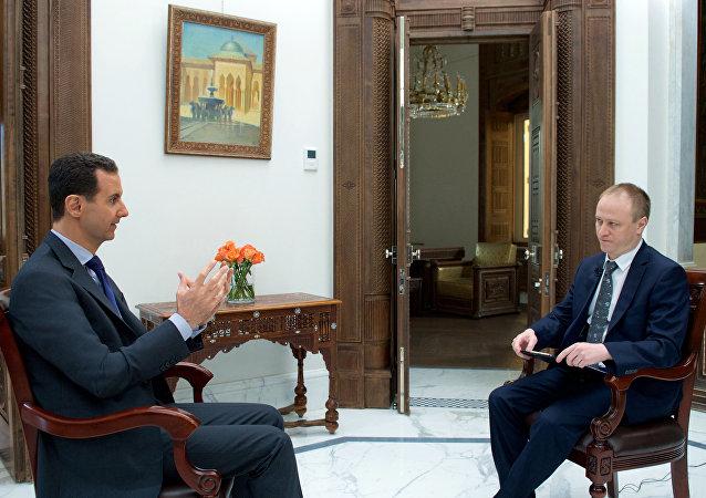 رئيس سوريا بشار الأسد