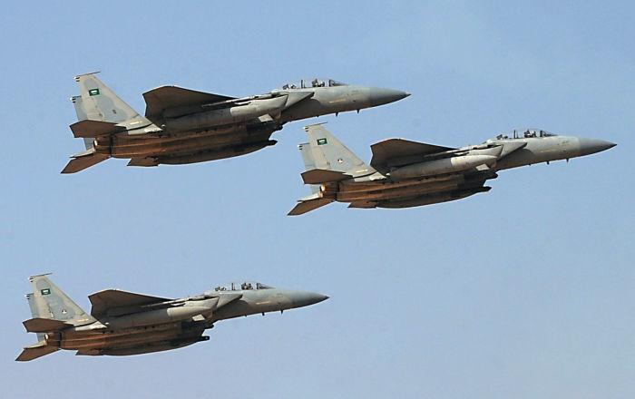 """""""أنصار الله"""": طيران التحالف شن 31 غارة على مأرب والجوف بشمال اليمن"""