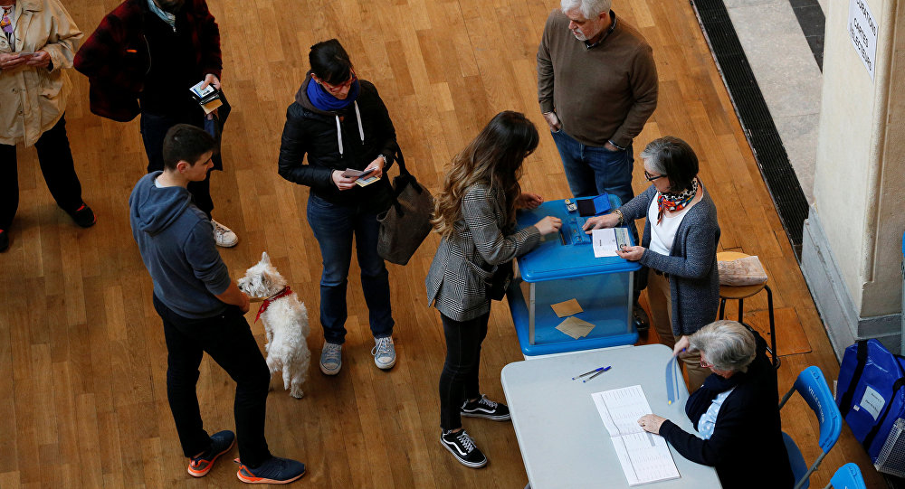 الجولة الأولى من الانتخابات الفرنسية