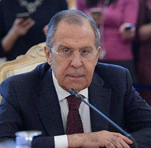 لقاء وزير الخارجية الروسية سيرغي لافروف ووزير الخارجية السعودي عادل الجبير