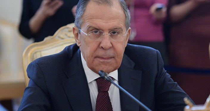 لقاء وزير الخارجية الروسية سيرغي لافروف