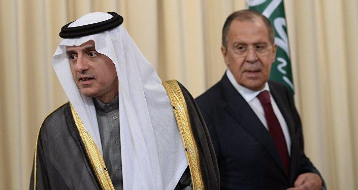 لقاء وزيري خارجية روسيا والسعودية