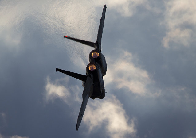Israeli Air Force F-15 jet. (File)