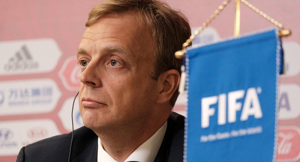 مؤتمر صحفي حول كأس العالم - 2018 في روسيا