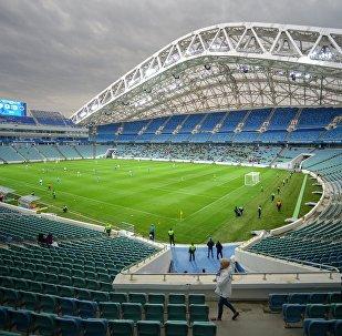 ملعب كرة قدم في مدينة سوتشي، روسيا