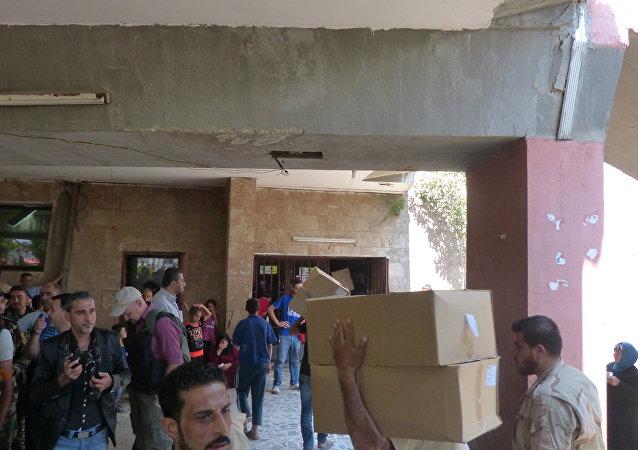 ما تقدمه الدولة السورية للباقين داخل مضايا والزبداني