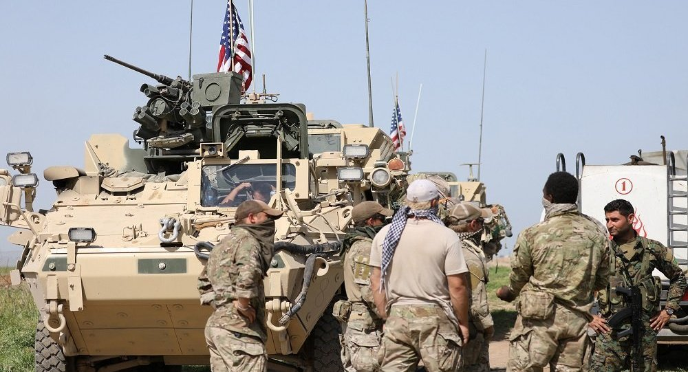 القوات الأمريكية في سوريا