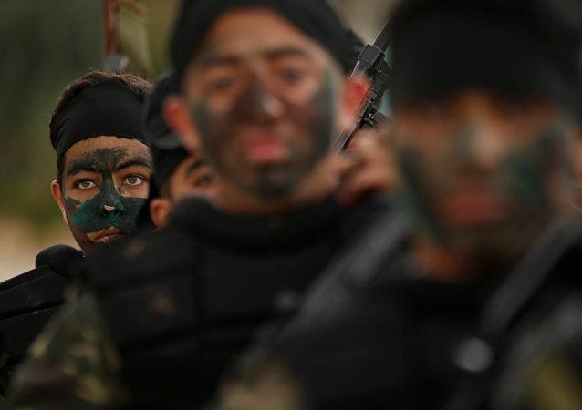 تدريبات لحركة حماس