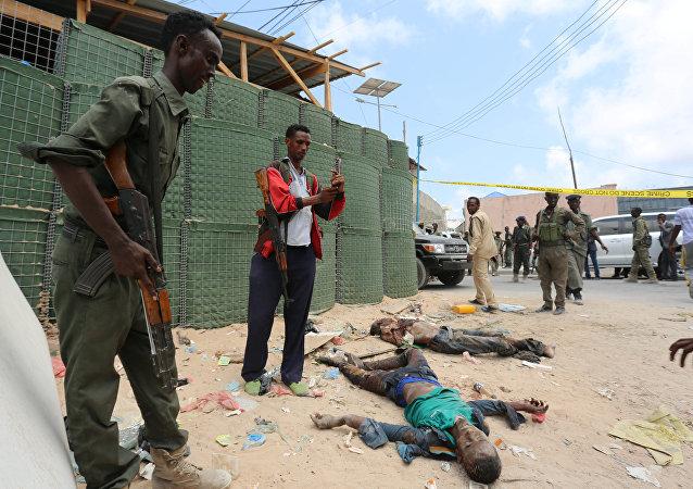 جثث لأعضاء في حركة الشباب الصومالية