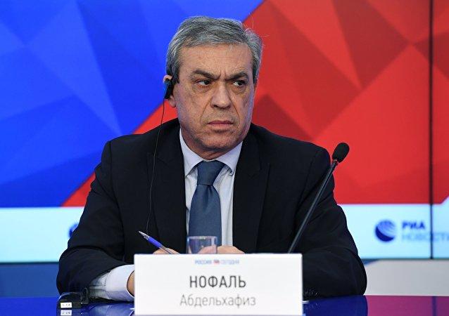 سفير دولة فلسطين إلى روسيا نوفل عبدالحفيظ