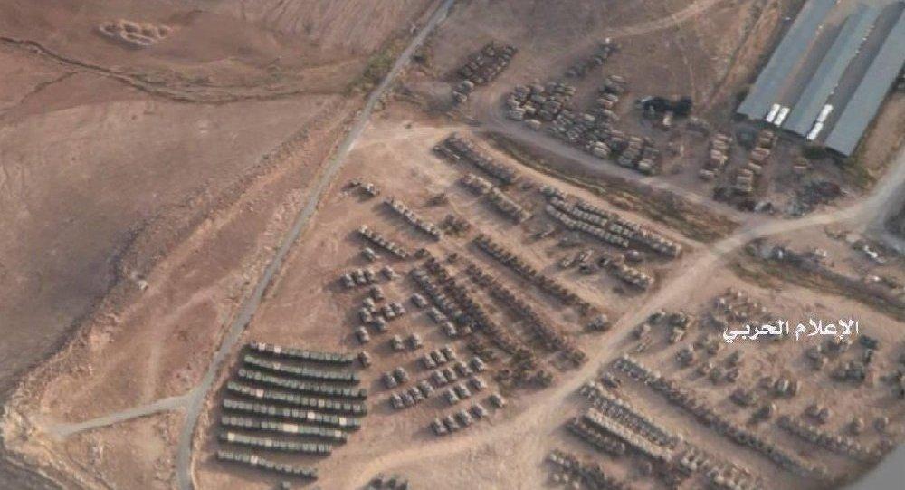 حشود لقوات أمريكية وأردنية قرب الحدود مع سوريا