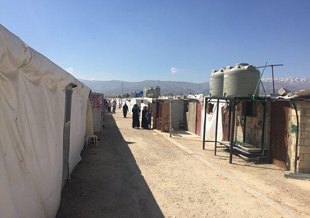 مخيم العودة برالياس