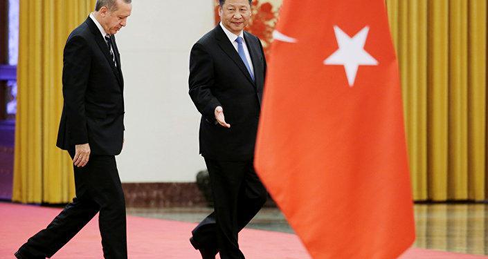 أردوغان والرئيس الصيني