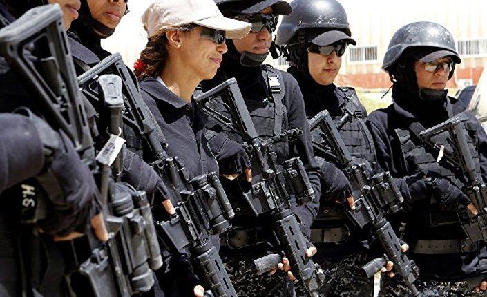 الشرطيات الأردنيات