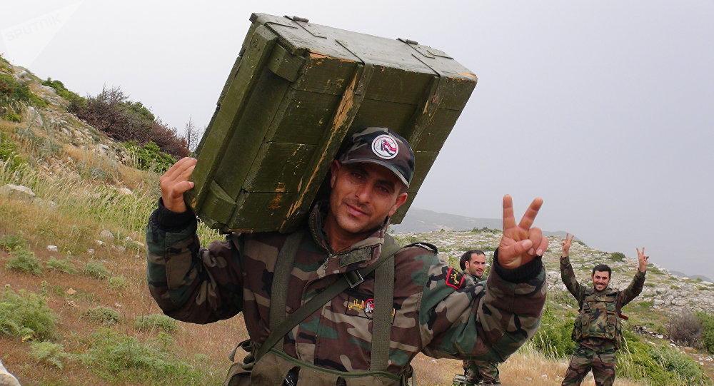الجيش السوري شرق حمص