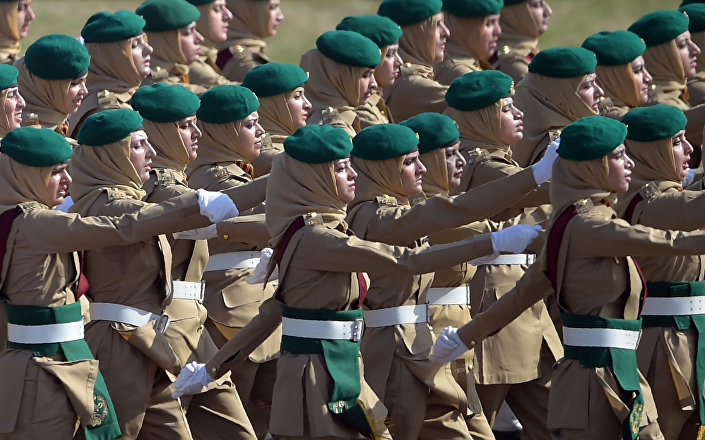 مجندات باكستانيات