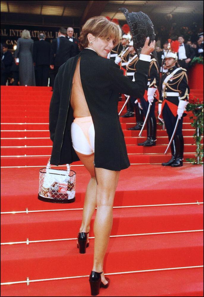 الممثلة فكتوريا أبريل في مهرجان كان السينمائي