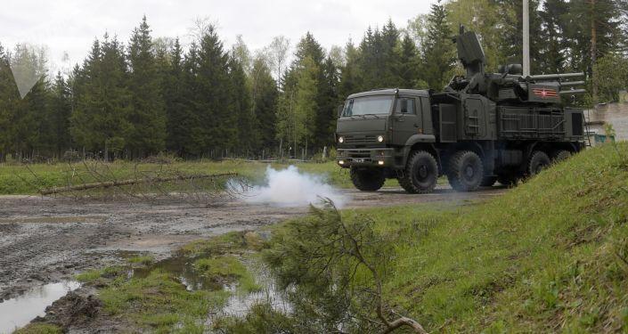 منظومة بانتسر إس-1 الروسية في مقاطعة موسكو