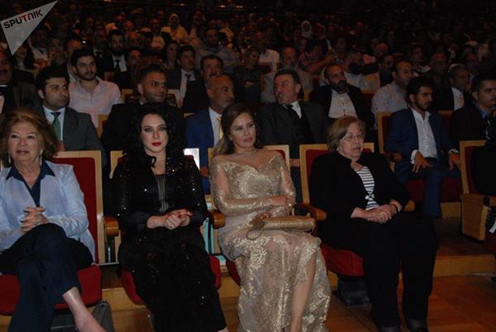 تكريم فنانين مصريين في سوريا