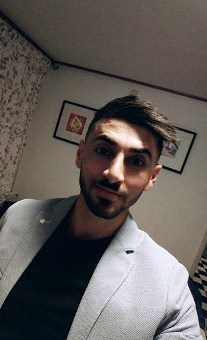 شاب عراقي ينافس شباب وفتيات أوروبا بجماله