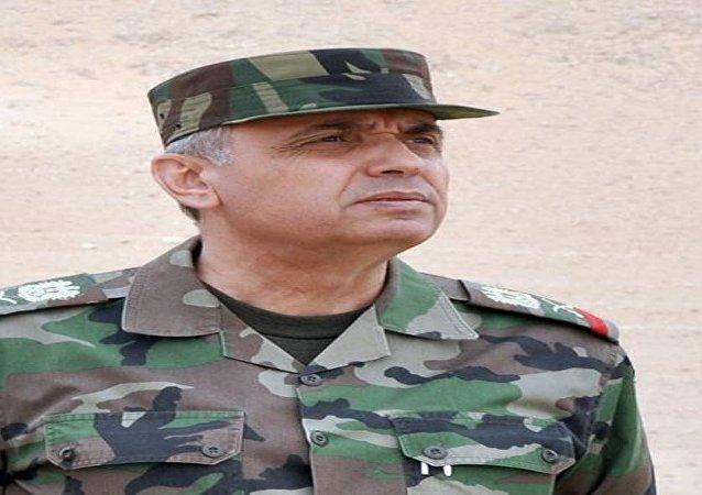 مدير الإدارة السياسية الناطقة باسم وزارة الدفاع السورية اللواء اسامة خضور
