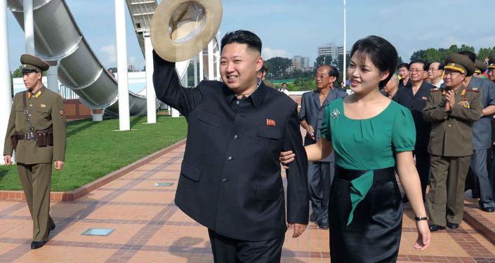 زوجة زعيم كوريا الشمالية كيم جون أون