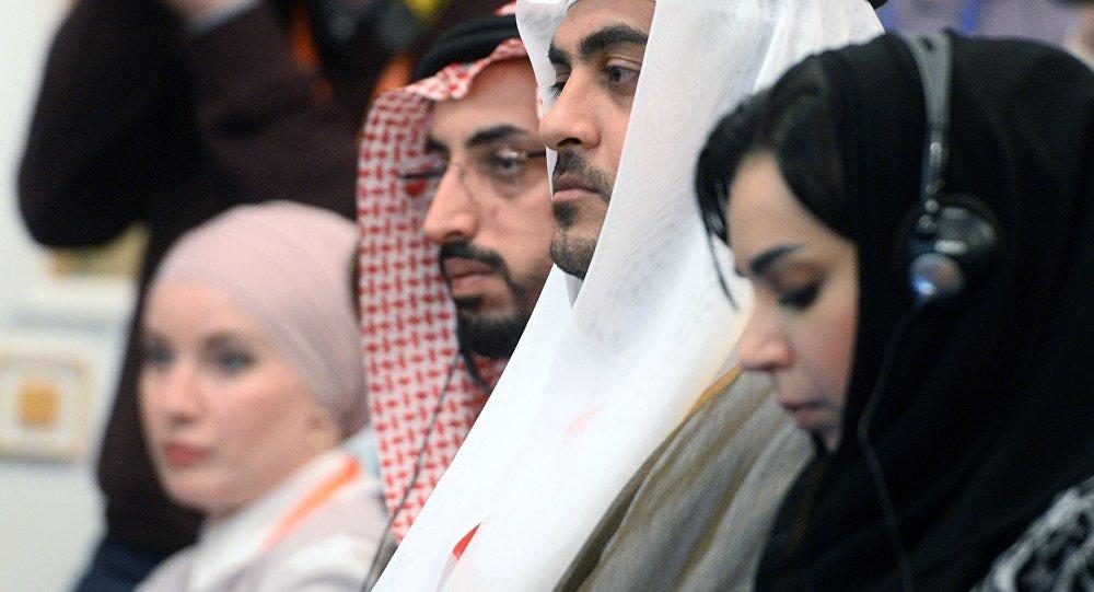 مشاركون في قمة موسكو الاقتصادية روسيا -العالم الإسلامي