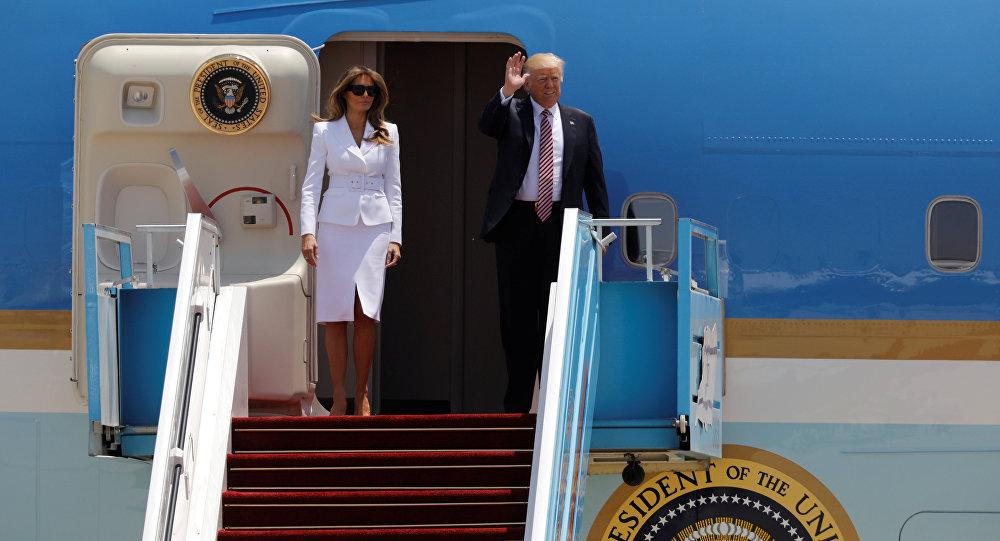 ترامب يصل تل أبيب